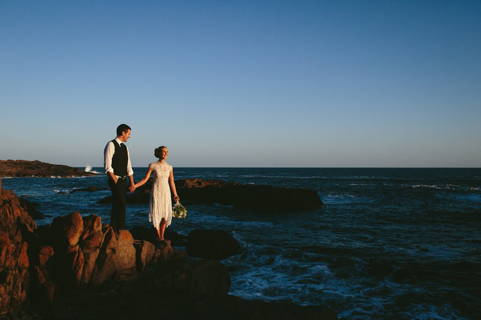 Natural ethical wedding Port Stephens