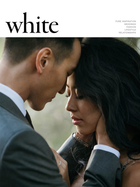 Cover if issue 32 of white magazine