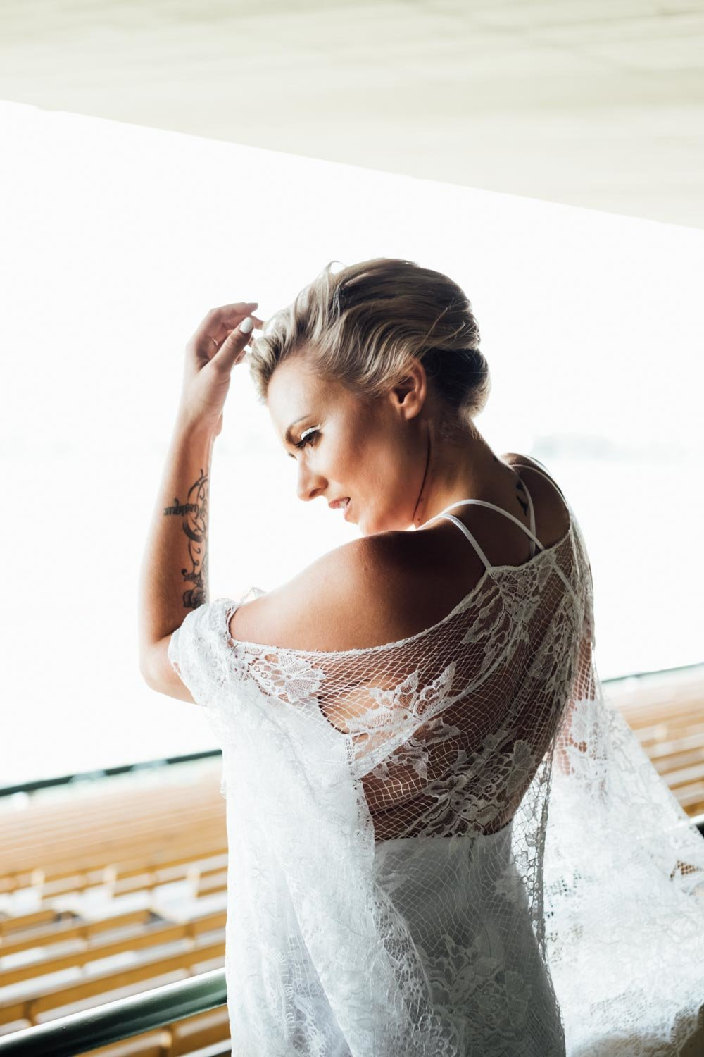 Lenka Couture ethical wedding dress