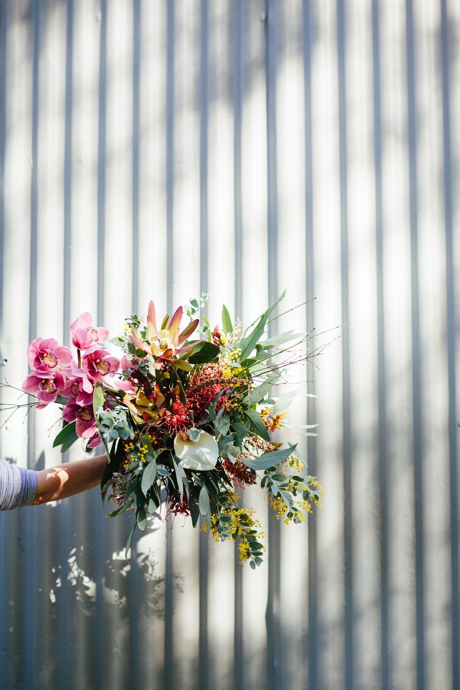 Eco wedding flowers
