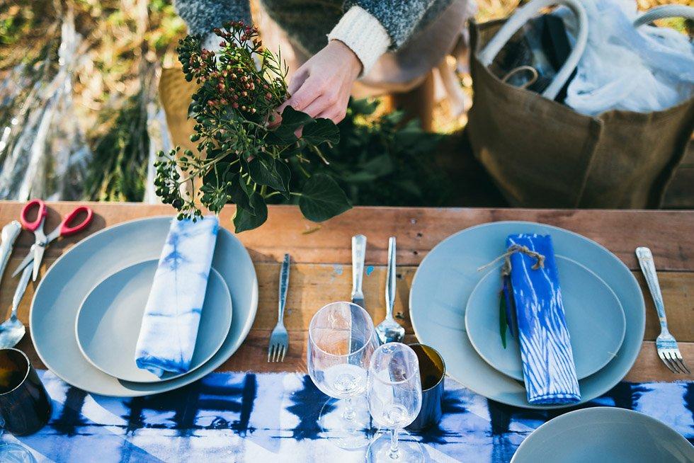 Sustainable wedding stylist