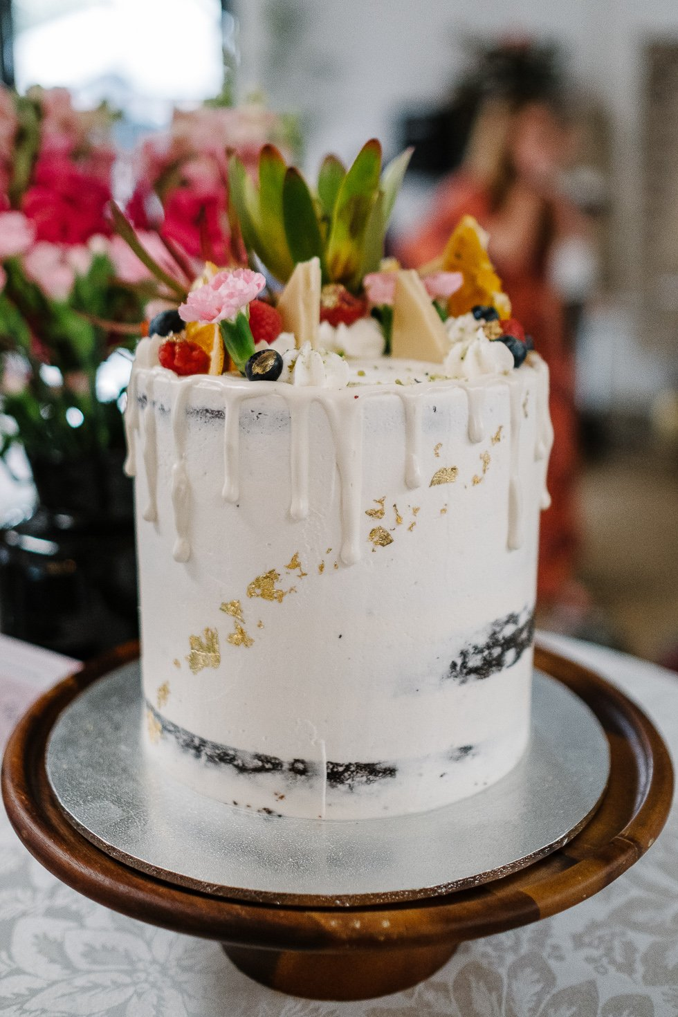 Vegan wedding cake in Sydney