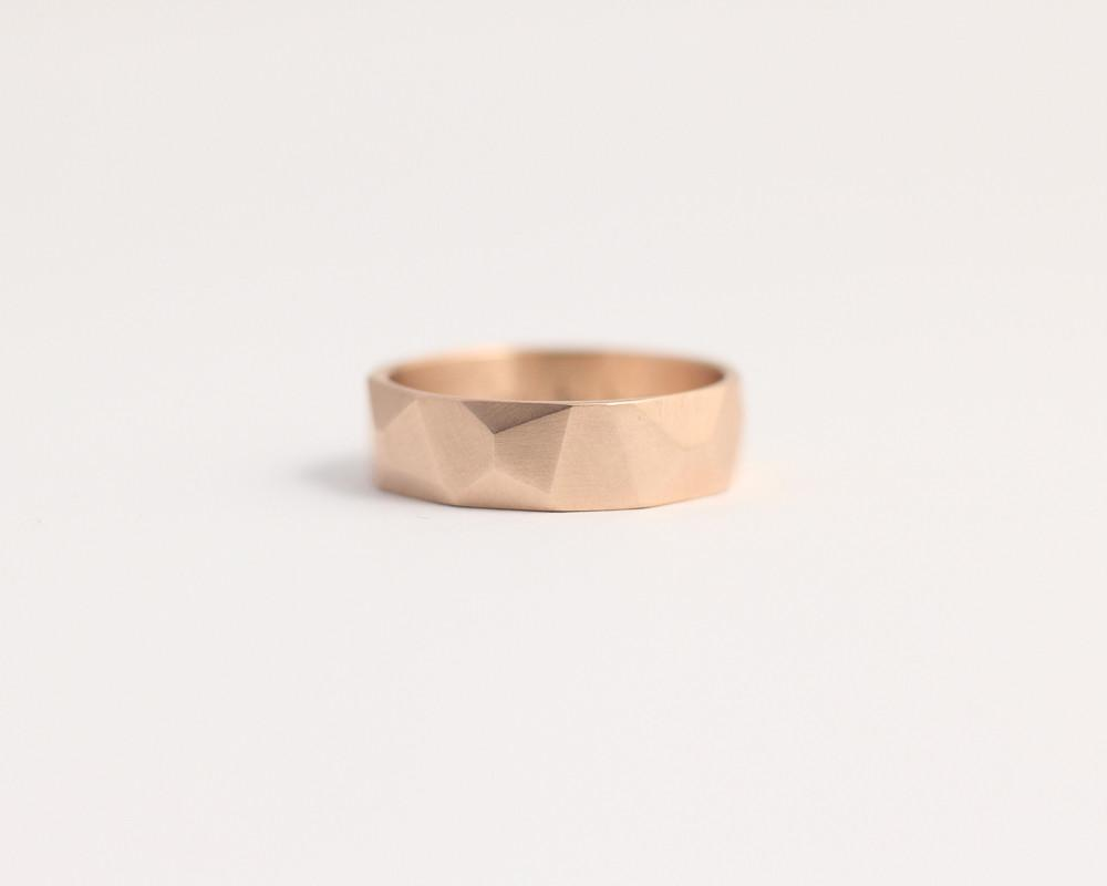 Ethically handcrafted rings from recycled reclaimed metals and alluvial NZ gold