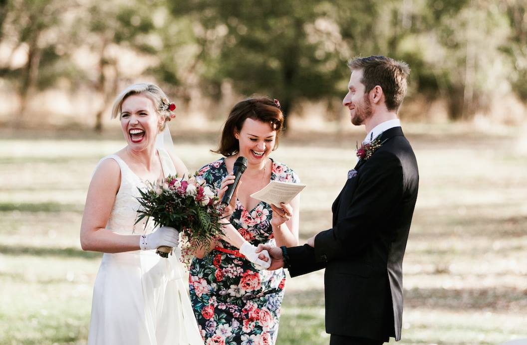 Fun heartfelt wedding ceremonies with Julia's celebrant agency