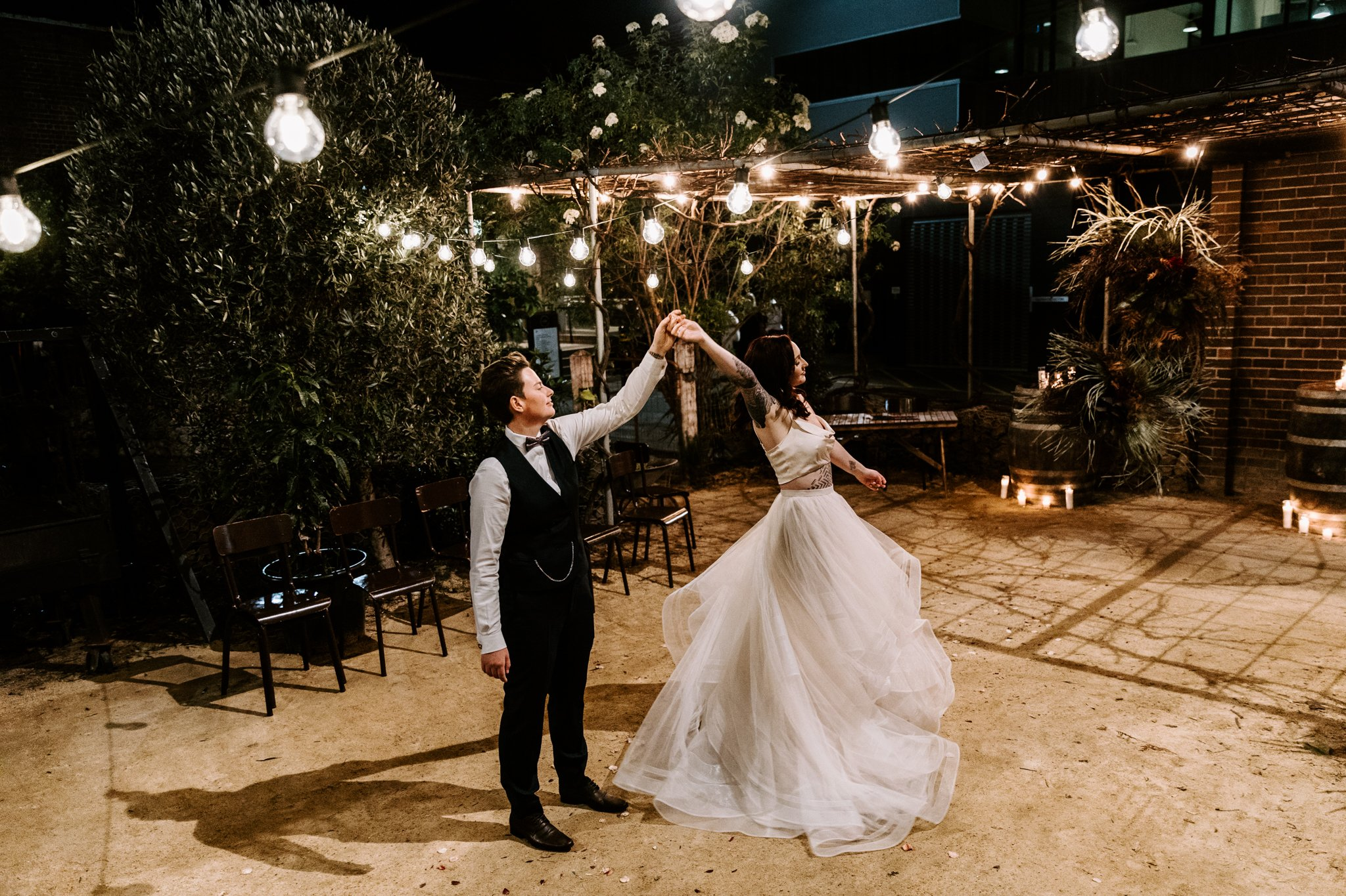 Evening wedding, Sydney, by Fox & Kin