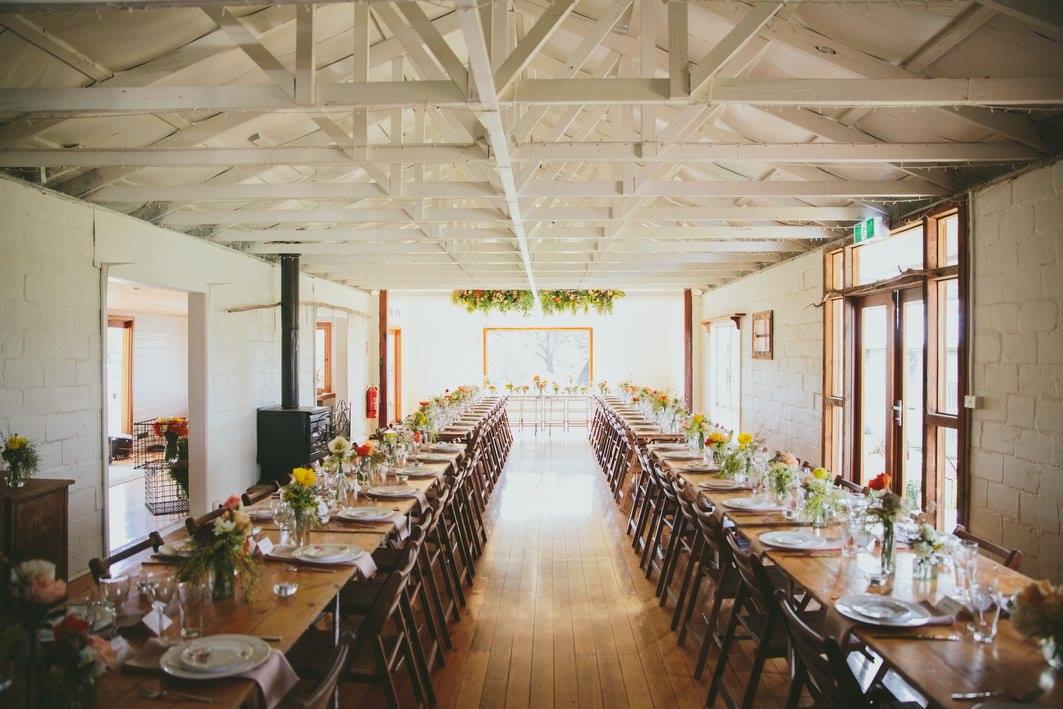 Rustic country wedding venue Mimosa Glen