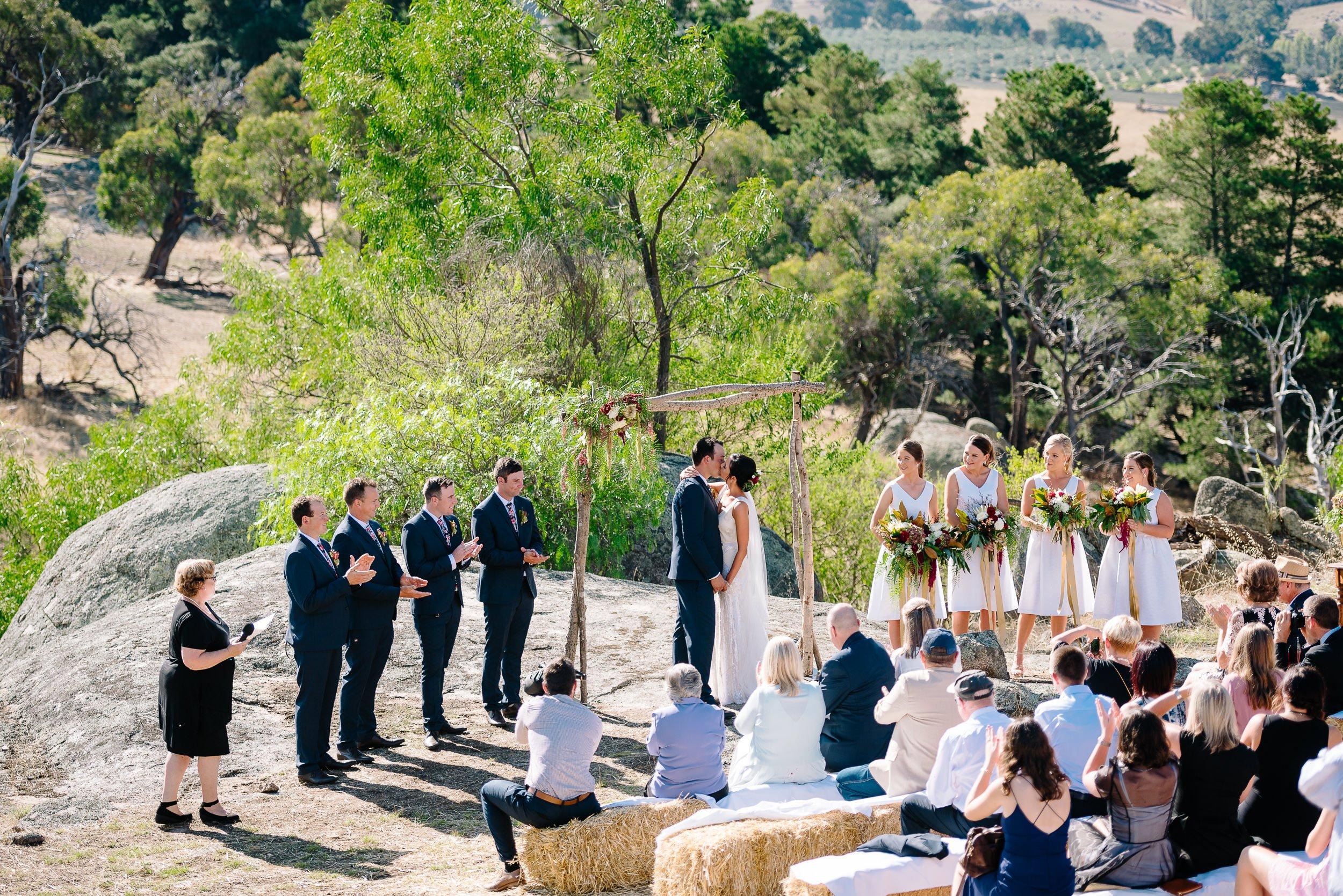 Bush weddings at Mimosa Glen