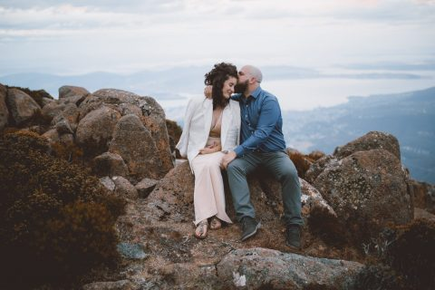 Kunanyi Elopement, by The Love Lab Tasmanian Videographer