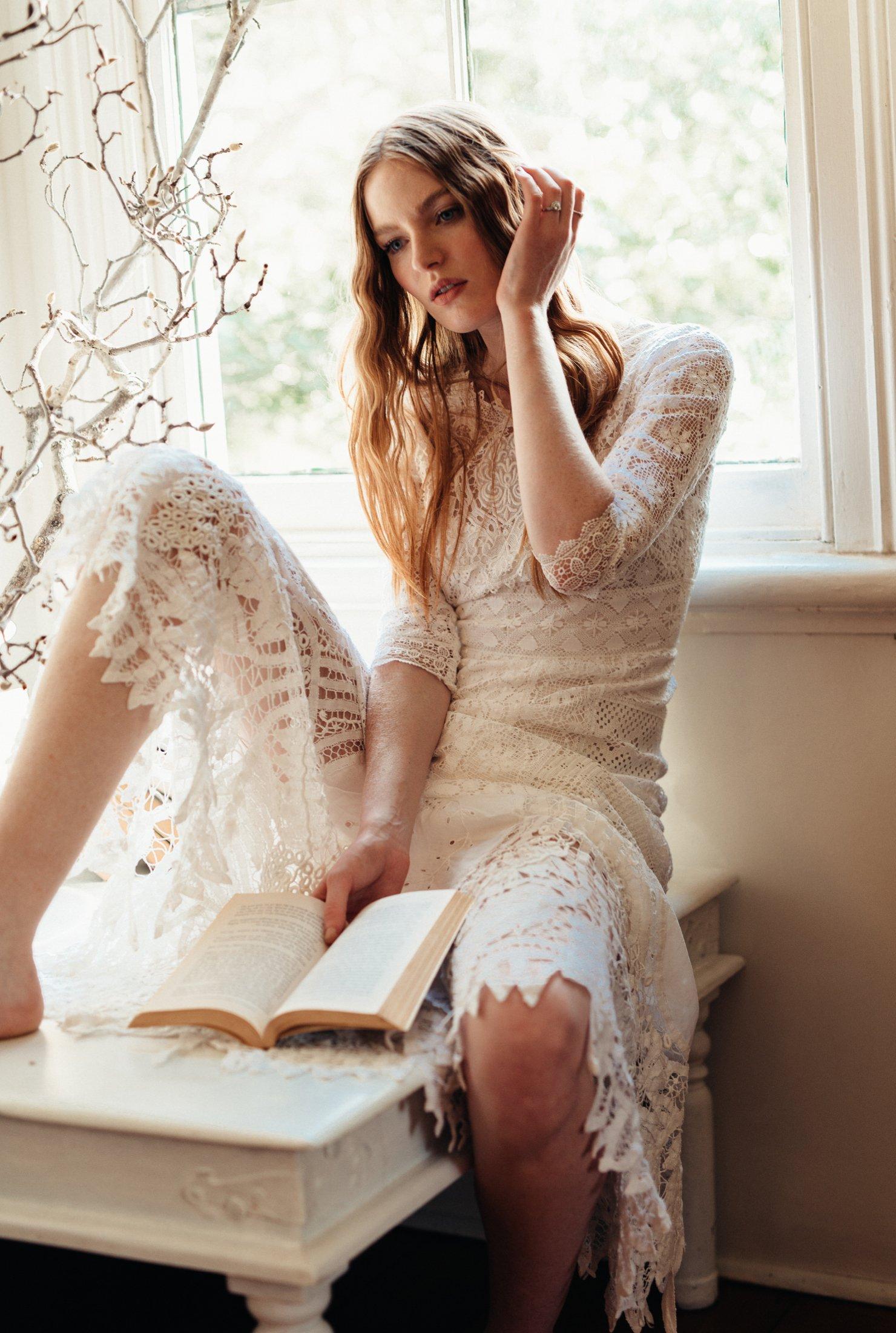 Lost in Paris - Antique lace Edwardian gown