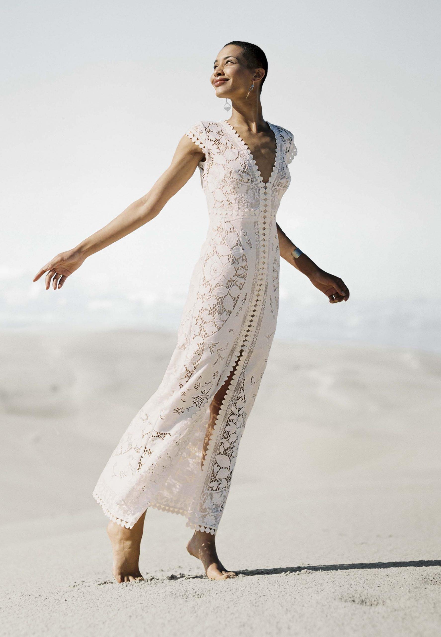 Lost in Paris - Vintage lace Stardust gown