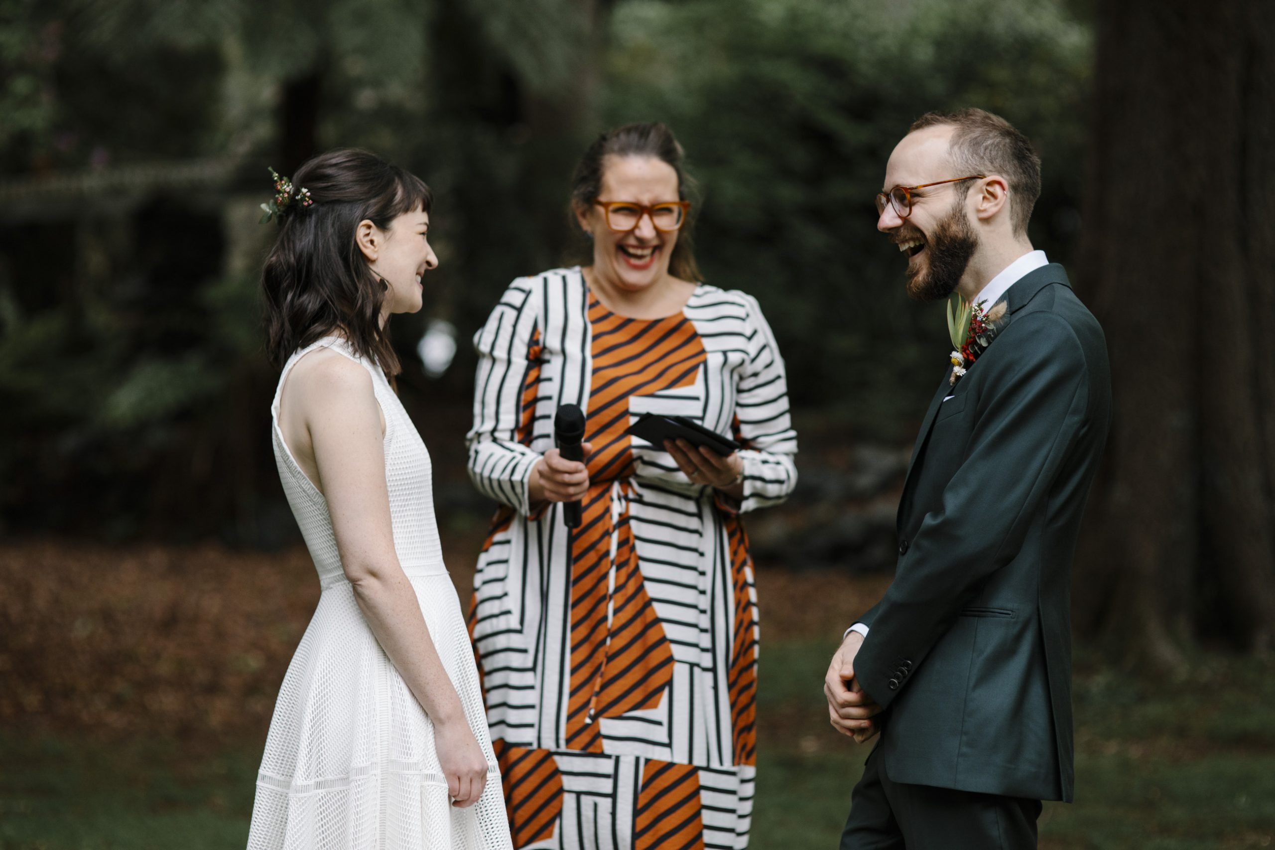 Eco-friendly inclusive marriage celebrant in Melbourne. Image by It's Beautiful Here.